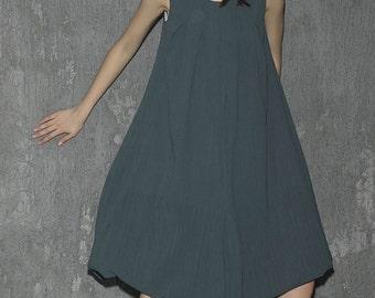 Green Dress-Linen Dress-Woman Dress-Maxi-Long Prom Dress-Maxi Dress-Spring Dress-Woman Linen Party Dress, tunic dress, loose dress 1314