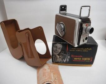 Brownie 8 mm Movie Camera, Vintage