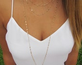 Triple Layering Necklace- Triple Strand Layering Necklace as seen on Faith Hill, Celebrity Inspired Jewelry