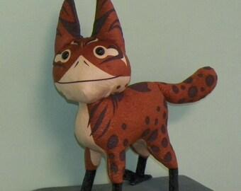 Custom Alien Cat Plush Toy