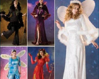 Sew & Make Simplicity 2864 SEWING PATTERN - Womens Angel Fairy Costumes sz 6-12