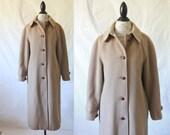 Vintage 70's Fortsmann Montello Wool Coat Sz S/M