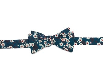 Pomp & Ceremony, Men's Bow tie, Liberty of London Mitsi (A)
