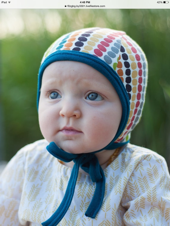 Baby Pilot Hat Fall Dot Hat Hearing Aid Hat Toddler Hat