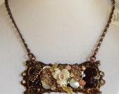 Paris Plaque Necklace
