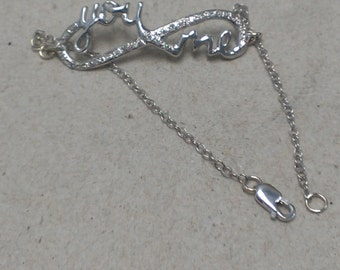 You & Me Infinity Bracelet