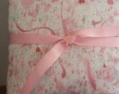 Hand Painted Watercolor Pillow Ring Bearer Pillow Accent Pillow Nursery Child,s Pillow