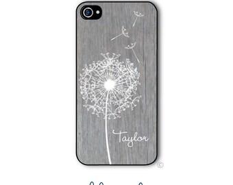 Dandelion Wood Phone Case Monogram iPhone 6 Case iPhone 6s Case Samsung Galaxy S5 S6 Case iPhone 5 Case iPhone 6 Plus iPhone 5c Style 213