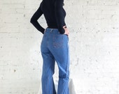FADED GLORY By APPENDAGEZ High Waist Pin Tucked Wide Legged Bell Bottoms