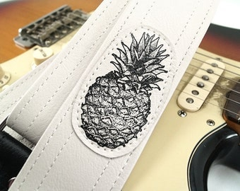 Pineapple Guitar Strap- Ready For You To Rock