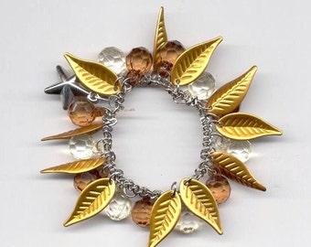 Gypsy Bracelet GoldenLeaf