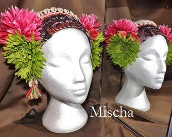 Tribal Fusion ATS Belly Dance Headpiece, Mischa