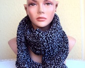 Sale! Knit Chunky Scarf Women Men Clothing Accessories   Valentine's Day Gift