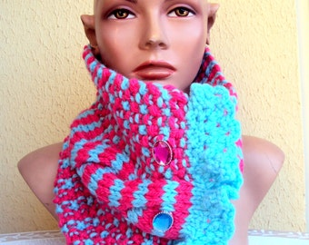 CLEARANCE SALE! SALE! Knit Cowl Neckwarmer Knit Scarf Women Fashion Accessories Chunky Cowl Gift Ideas Free Shipment