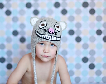 Download PDF crochet pattern 011 - Cheshire cat hat