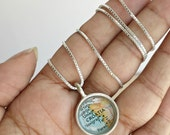 Custom Map Necklace You Pick the Place