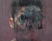 Head Study II, Original Oil Painting