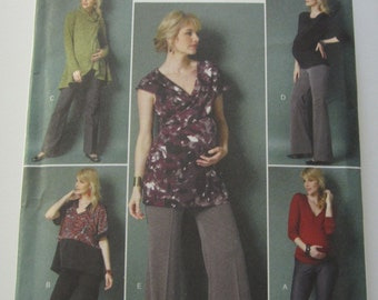 Easy to Sew Maternity Leggings and Pants Sizes 14 16 18 20 22 Butterick Pattern B5964 UNCUT
