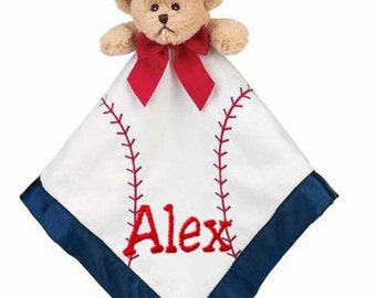 PERSONALIZED Bearington Bears Baby Collection Touchdown Snuggler