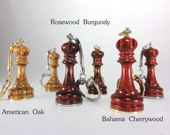 King Chess Piece Keychain