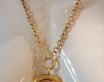 Huge Authentic Chanel Rue Cambon Pendant Necklace