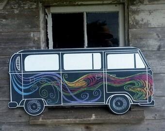 Chalk Bus Bay Window