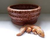 Custom Pet Reptile Polymer Clay Sculpture