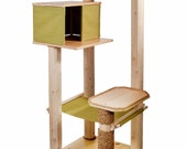 NEW! 72 Inch Cat Tree House & Hammock - Ships Free!