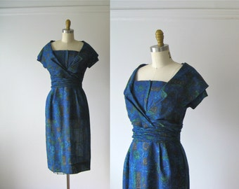 SALE vintage 1950s dress / 50s dress / Sugar Shack