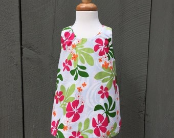Girl's Hawaiian Dress - Pink - Toddler Dress - Available Only in Size 6 Months
