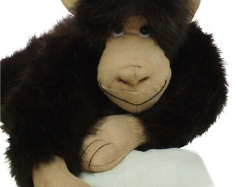 Mirtle cheeky chimp soft toy monkey sewing pattern