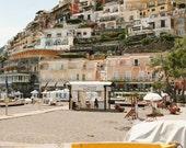Positano Italy Print - Amalfi Coast Photography - Italy Photography - Travel Wall Art - Italian Decor - Architecture - Beach Photography