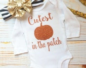 Cutest pumpkin in the patch bodysuit
