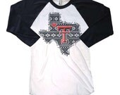 Texas Tech Red Raiders, Licensed Shirt, Aztec Texas Tech!