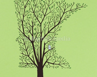 MN Grown - Spring | Minnesota Tree Screenprint Poster