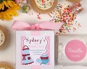Baking Party Favors -- Cupcake Mix Favors -- Kids Party Favors -- Cupcake Favors -- Set of 6