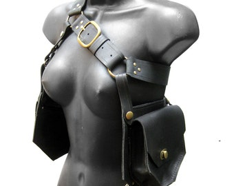 Holster Bag in Leather - METAMORPH design