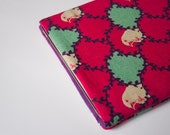 Sparrow Magenta iPad Case Sleeve Pouch iPad Mini, iPad Air - also for Nexus, Kindle, Acer, Dell, LG