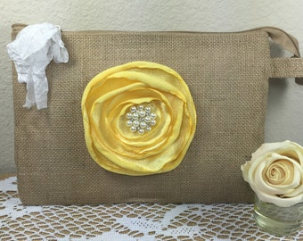Bridesmaid bags, Rustic wedding bags, Bridesmaid gifts, Bridesmaid clutc, Bridal party, Burlap clutch, Wedding party, Bridesmaid, Weddings