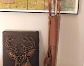 Archery Season... Set of 5 Vintage Mix Matched Wooden Arrows