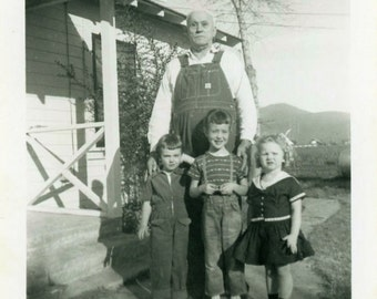 "Vintage Photo ""Uncle Fester"" Snapshot Photo Old Antique Photo Black & White Photograph Found Photo Paper Ephemera Vernacular - 24"