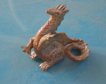 Stoneware Dragon with attitude