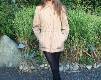 Classic London Fog Beige Kaki Jacket