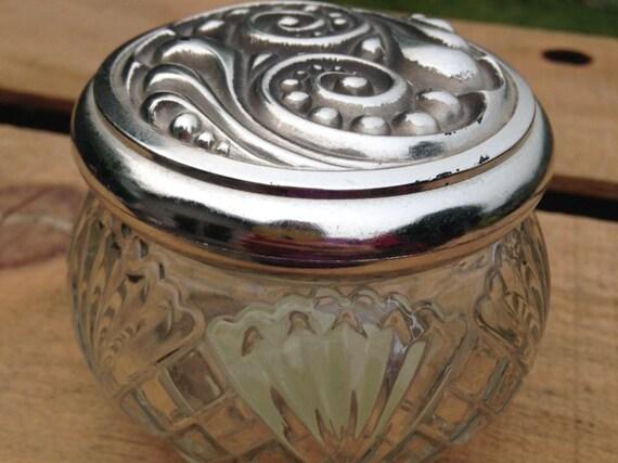 Vintage Avon Rich Moisture Cream 5oz Glass Jar