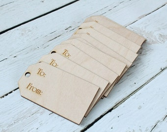 Wood Gift Tag Laser Engraved Gift Tag Gift Tags #DownInTheBoondocks