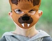 Brown Bat Mask-Endangered Animals Collection