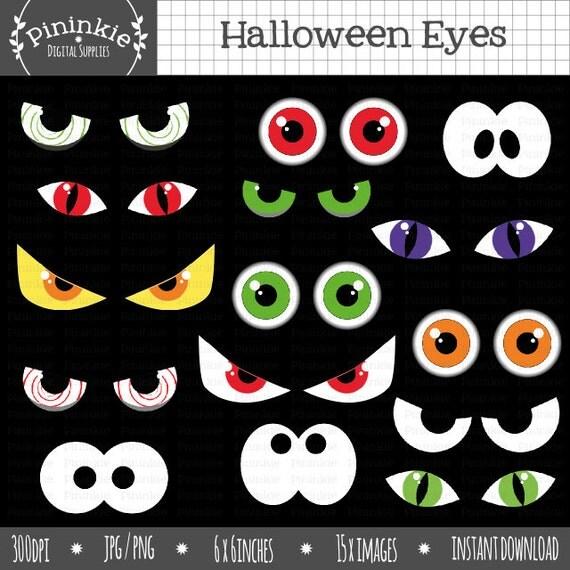 Halloween Eyeball Clipart Halloween Eyes Clip Art Halloween