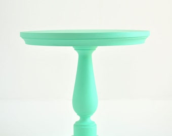 20cm mint green cake stand