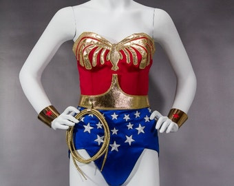 WS2 Wonder Suit Costume Lynda Carter Replica by WilliamsStudio2