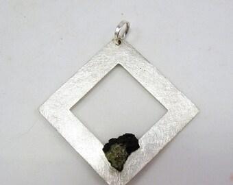 "Sterling silver pendant: ""Silverframe"""